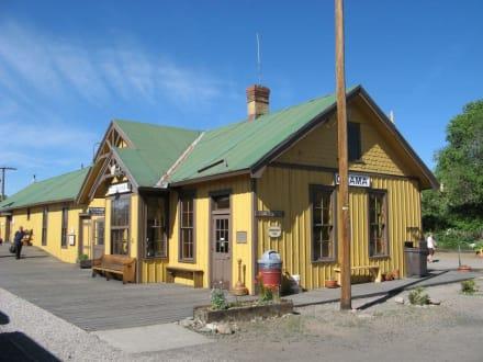 Bahnhof in Chama, New Mexico - Cumbres & Toltec Scenic Railroad