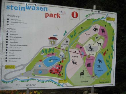 Der Parkplan Steinwasenpark - Steinwasen Park