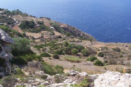 Dingli Klippen im Süden der Insel - Dingli Cliffs