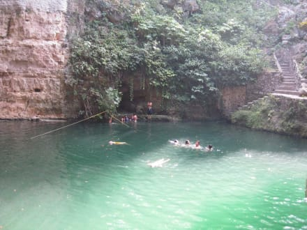 Waters (river/lake/waterfall)  - Cenote Zaci Cave