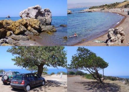 Strand und Umgebung auf Akamas - Halbinsel Akamas