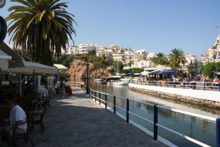 Promenade am Binnensee - Strandpromenade Agios Nikolaos