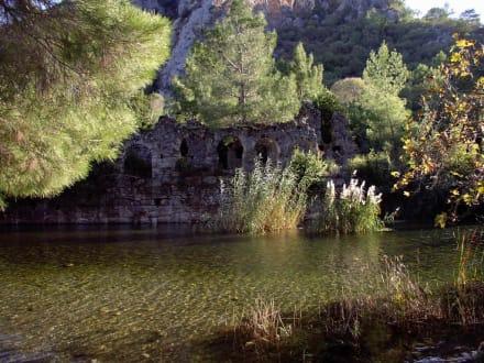 Der Tag neigt sich dem Ende - Antike Stadt Olympos