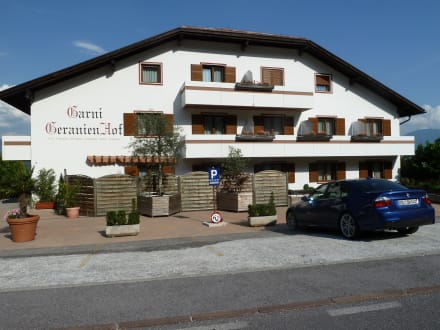Geranienhof bild designhotel panorama in kaltern an der for Designhotel suedtirol