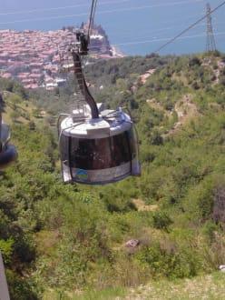 Kabinenbahn des Monte Baldo - Seilbahn Malcesine - Monte Baldo