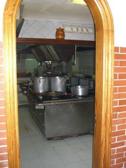 Blick in die Küche - Rancho Picadero