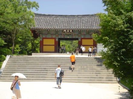 Tor zum Tempel - Bulguksa Tempel