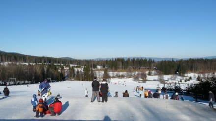 Zum Schlittenfahren reicht der Schnee - Die Rusel