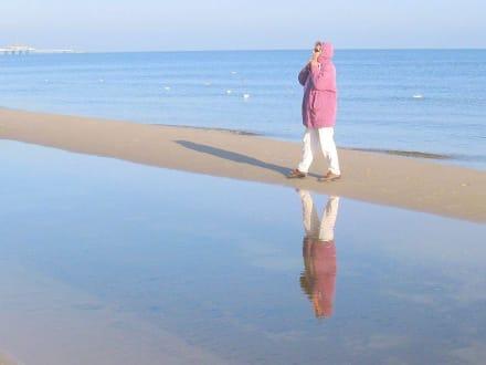 Spaziergang am Ufer - Strand Ahlbeck