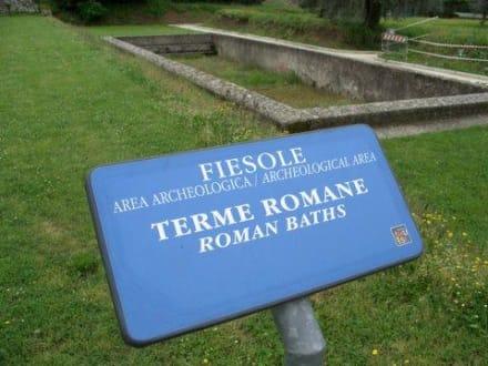 """Fiesole """"Römer Schwimmbad"""" - Archäologisches Gebiet Fiesole"""