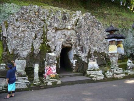 Eingang zur Elefantehöhle - Goa Gajah Elefantenhöhle