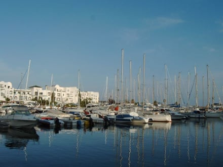 Yachthafen von Port el Kantaoui - Yachthafen Port el Kantaoui