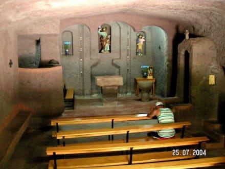 Höhlenkapelle - Höhlendorf Bermeja Cuevas