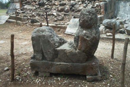 Kaum noch zu erkennen - Ruine Chichén Itzá