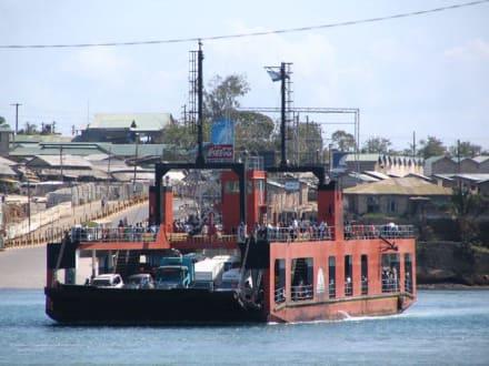 Fähre über den Likoni - Likoni Fähre von Mombasa