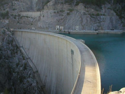 Staumauer - Oymapinar Baraji/ Stausee Green Lake & Green Canyon