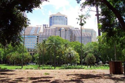 Blick auf die City - Hyde Park