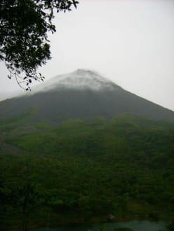 Blick zum Arenal - Vulkan Arenal