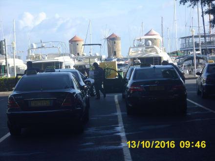 Hafenanlagen Rhodos-Stadt - Yachthafen Mandraki