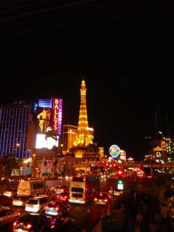 The Strip by night - Las Vegas Strip