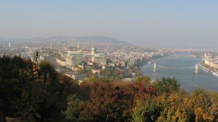 Blick von der Zitadelle auf BudaPest - Zitadelle