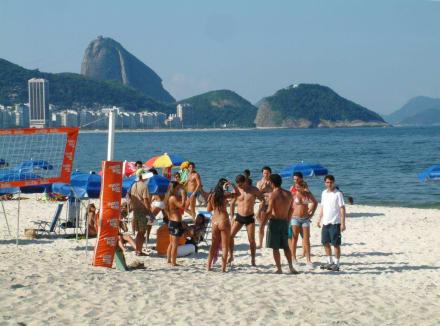 Praia Copacopana - Copacabana