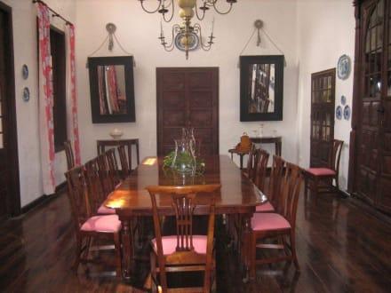 Eines der Speisezimmer - Palacio de Spínola