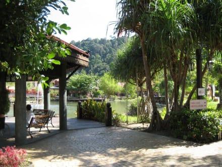 Weg zur Cable Car - Oriental Village