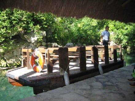 Flussfahrt - Freizeitpark Xcaret