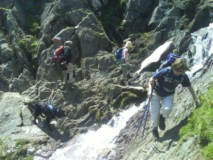 bergwandern am kitzsteinhorn - Wandern Kaprun