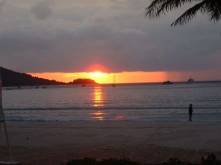 Sonnenuntergang - Strand Patong Beach