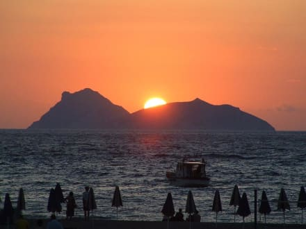 Sonnenuntergang - Strand Matala
