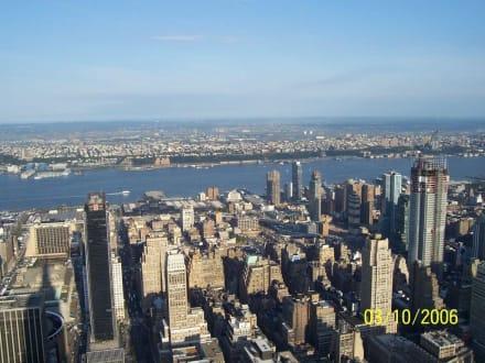 Ausblick am frühen Morgen - Empire State Building