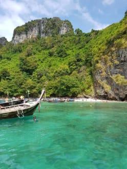 Auf der Rückseite der Insel - Strand Ao Nang