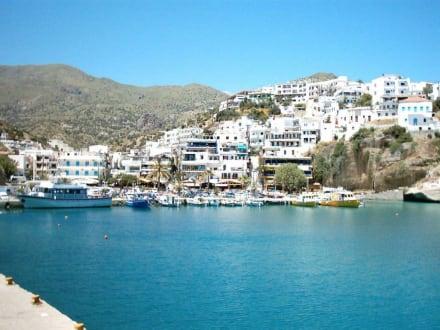 Buchtansicht - Hafen Aghia Galini/Agia Galini