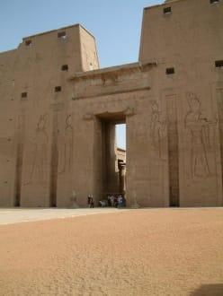 Edfu/Horus Tempel - Horus Tempel Edfu
