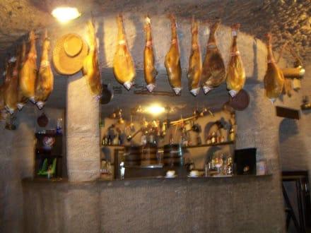 Ort des Höhlenfestes - Restaurant Tagoror
