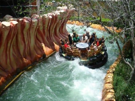 Super nasse Fahrt - Universal Studios Florida