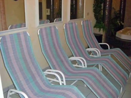 Ruhebereich im Wellnessraum - Hotel Plan Murin