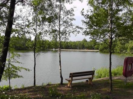 Blick auf den See - Center Parcs Bispinger Heide