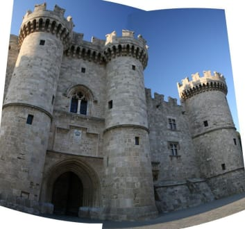 Burg in Rhodos Stadtt - Großmeisterpalast