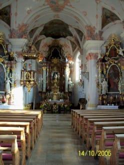Kirche in Frauenau - Kirche Maria Himmelfahrt