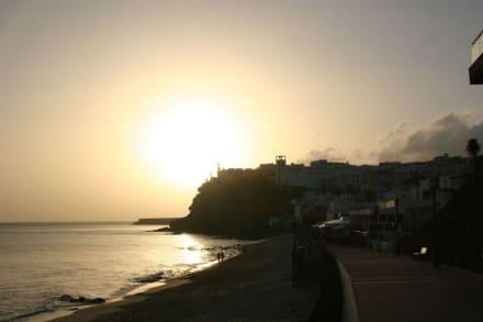 Blick Richtung Morro Jable - Strand Jandia