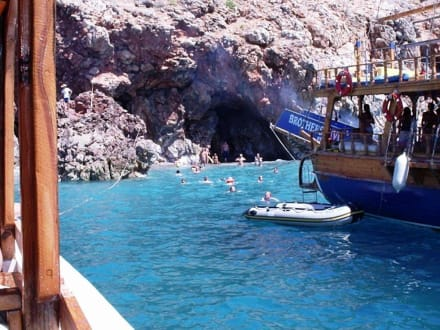 Grotte - Bootstour Alanya