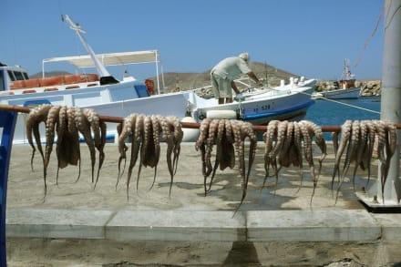 Entspannt abhängen... - Hafen Naoussa