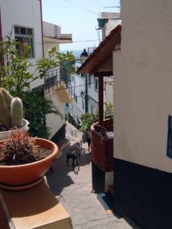 Puerto de Mogan verwinkelte schöne Gassen - Altstadt Puerto de Mogán