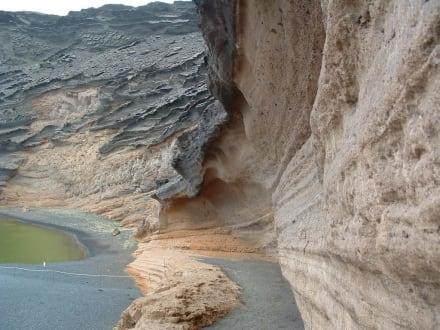 Laguna El Golfo - Charco de los Clicos / Grüner See