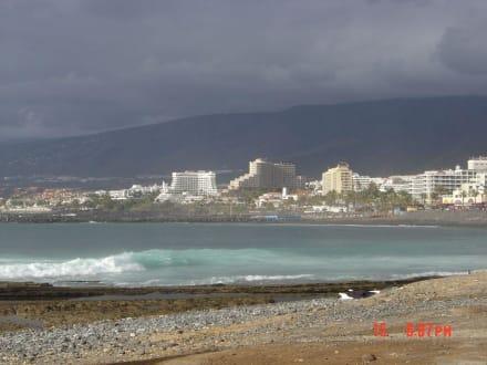 Blick Richtung Costa Adeje - Strand Playa de las Americas