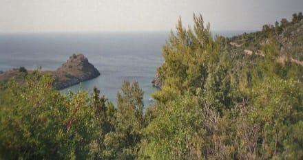 Kleine Bucht hinter Vlachia - Strand Vlachia