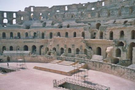 El Djem - Römisches Amphitheater - Amphitheater